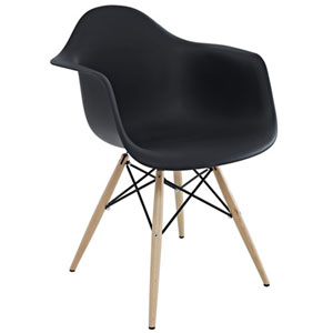 Nicollet Dining Chair in Black