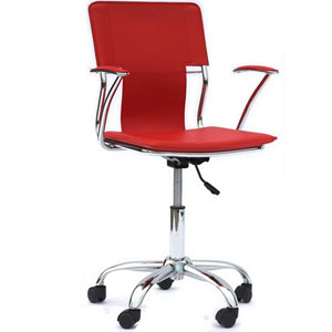 Uptown Office Chair in Red