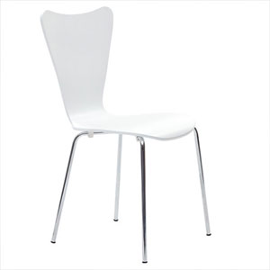 Uptown Dining Chair in White