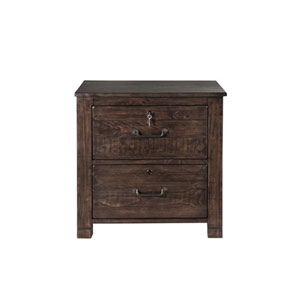 Fulton Lateral File Cabinet in Rustic Pine