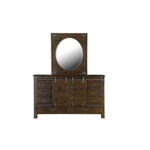 Fulton Portrait Oval Mirror