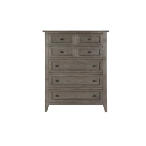 Afton Driftwood Five Drawer Chest