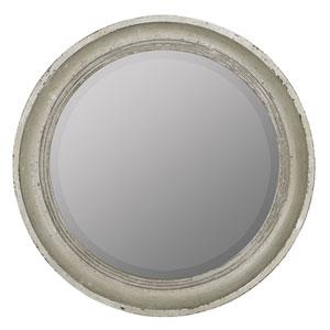 Quinn Distressed Cream Mirror