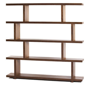 Loring Large Walnut Shelf
