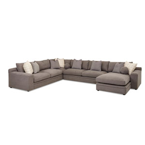Uptown Brown Sectional