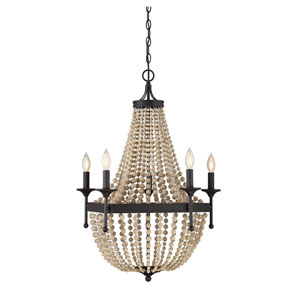 Hayden Oil Rubbed Bronze Five-Light Chandelier