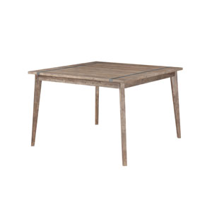 Afton Driftwood Complete Gathering Height Dining Table