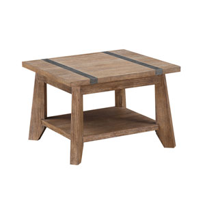 Afton Driftwood End Table