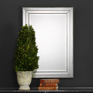 Whittier Rectangular Silver Mirror