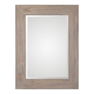 Grace Rectangular Woodtone Mirror