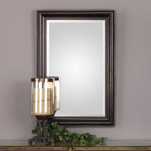 Evelyn Bronze Beaded Mirror