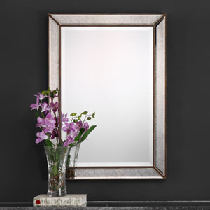 Afton Bronze Rectangular Mirror
