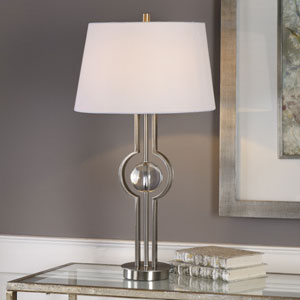 Cooper Brushed Nickel Table Lamp