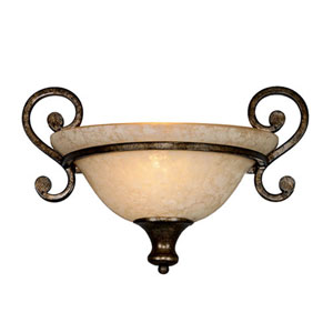 Wellington Burnt Sienna One-Light Wall Sconce
