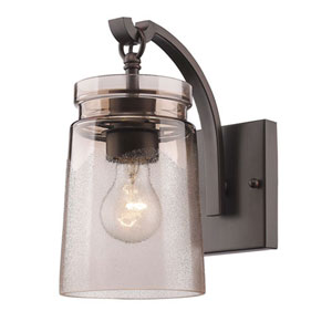 Hayden Rubbed Bronze One-Light Wall Sconce