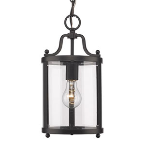 Evelyn Black One-Light Mini Pendant