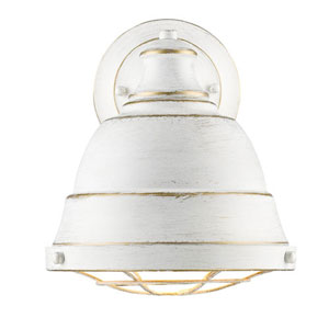 Fulton French White One-Light Wall Sconce with French White Shade