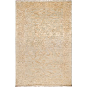 Aster Wheat and Seafoam Rectangular: 2 Ft. x 3 Ft. Rug