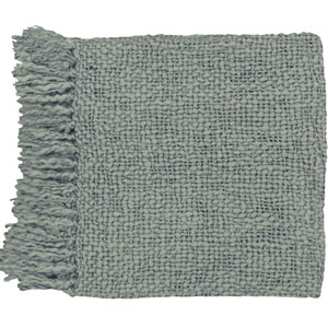 Aster Grey 51 x 71 Throw