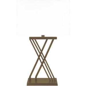 Uptown Brass Base Portable Lamp
