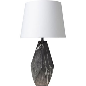 Loring Black Ceramic Table Lamp