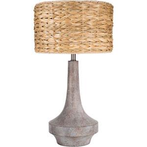 Hayden Light Grey One-Light Table Lamp