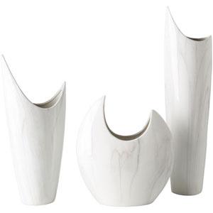 Cooper White Vase Set