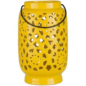 Quinn Large Mustard Lantern