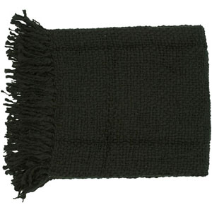 Aster Black 51 x 71-Inch Throw