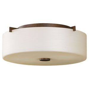 Nicollet Bronze Flush Mount