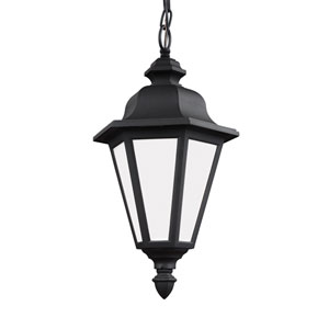 Wellington Black Energy Star LED Outdoor Pendant