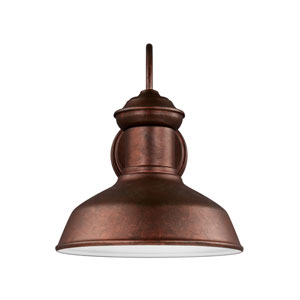 Lex Weathered Copper Energy Star LED Outdoor Wall Lantern