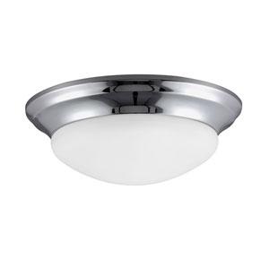 Bryant Chrome Three Light Indoor Flush Mount