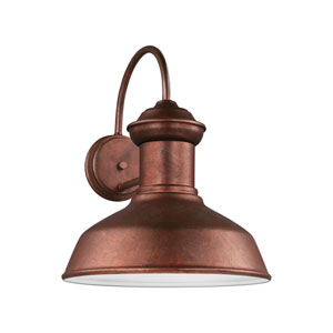 Lex Weathered Copper 13.5-Inch One-Light Outdoor Wall Sconce