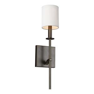 Ava Antique Bronze 5-Inch One-Light Bath Light