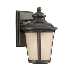 George Burled Iron Energy Star LED Outdoor Wall Lantern