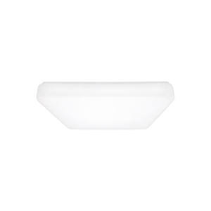 Cora White LED Energy Star Flush Mount