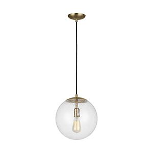 Loring Satin Bronze 12-Inch LED Pendant