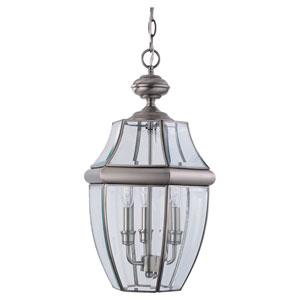 Oxford Nickel Outdoor Hanging Lantern
