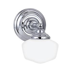 Russell Chrome Energy Star LED Bath Sconce