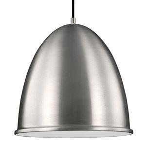 Howe Satin Aluminium One-Light Pendant