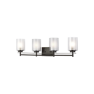 Uptown Bronze Four-Light Wall Sconce