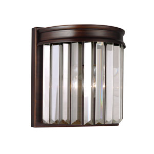 Cooper Burnt Sienna Energy Star LED Bath Sconce