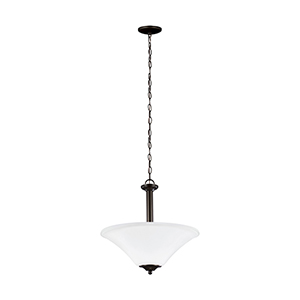 Webster Bronze 18-Inch Three-Light Pendant