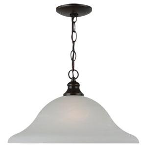 Webster One-Light Bronze Pendant