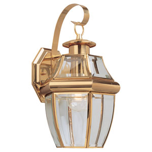 Oxford Brass Large Outdoor Wall Mount