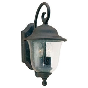 Lincoln Two-Light Outdoor Wall Mount