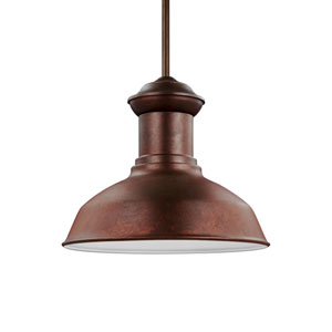 Lex Weathered Copper Energy Star LED Outdoor Pendant