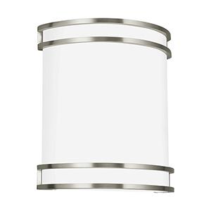 Fredrick ADA Brushed Nickel 10-Inch LED Bath Sconce