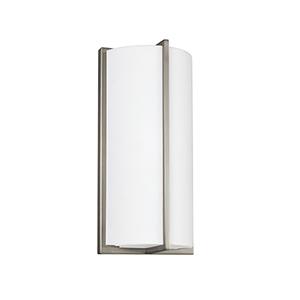 Fredrick ADA Brushed Nickel Six-Inch LED Bath Sconce